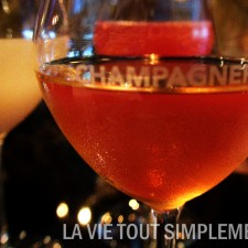 Champagnerie - Verre de champagne version cocktail