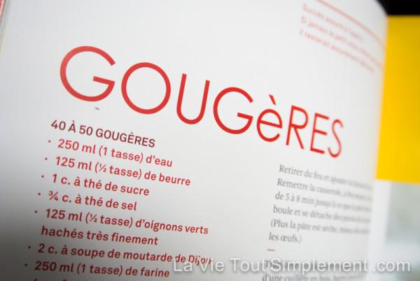 Di Stasio - Carnett rouge - Gougères