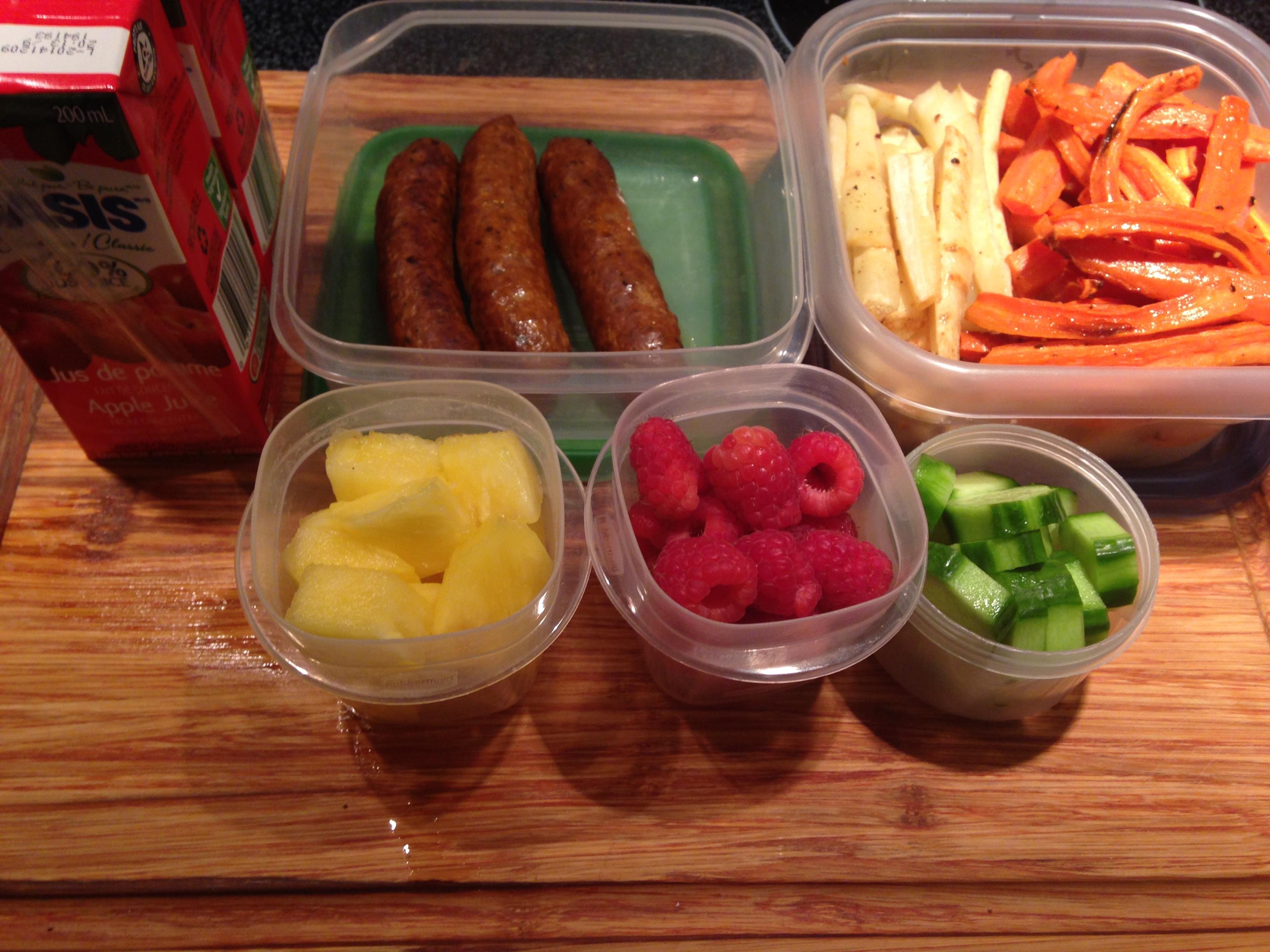 La boite lunch des enfants casse t te quotidien la for Repas entre amoureux maison