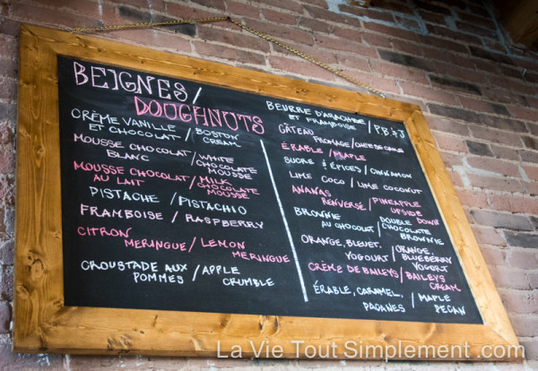Léché Desserts - Des beignes artisanaux dans le Vieux-Montréal - par www.lavietoutsimplement.com