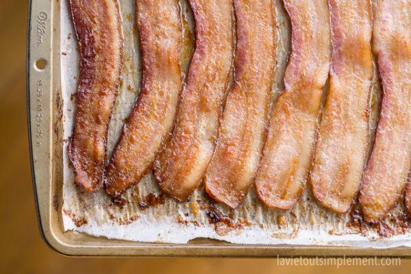 Bacon au four : tellement simple et sans dégâts!