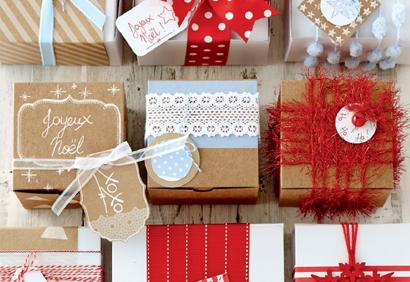 Emballage maison - #IdeesCadeaux #DerniereMinute #DIY - www.lavietoutsimplement.com