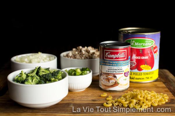 Recette de macaroni au boeuf et fromage à la poêle de #CuisinezAvecCampbells #ad | LaVieToutSimplement.com