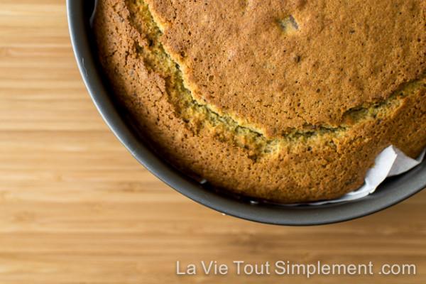 Gâteau sans gluten aux cerises séchées et chocolat noir |Bob's Red Mill Everyday Gluten-free Cookbook | détails sur LaVieToutSimplement.com