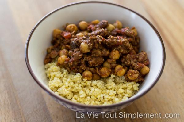Keema avec millet à la menthe | Bob's Red Mill Everyday Gluten-free Cookbook | détails sur LaVieToutSimplement.com
