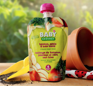 Baby Gourmet - Purée de chou frisé, bananes et pommes | lavietoutsimplement.com