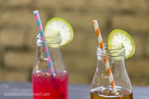 Thés rafraîchissants et cocktails d'été par Four O'Clock | lavietoutsimplement.com