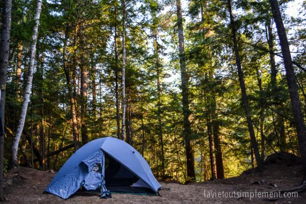 Camping au Parc national Papineau Labelle | Escapades et idées vacances au Québec