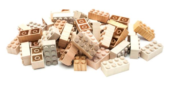 Briques de bois Mokulock, vendu chez Ouistitine | lavietoutsimplement.com #IdeesCadeaux Crédit photo : Ouistitine