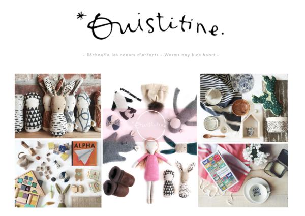 Le site web de Ouistitine | lavietoutsimplement.com #IdeesCadeaux
