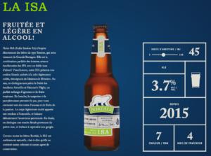 ISA de Boréale | La bière session. À découvrir cet été!