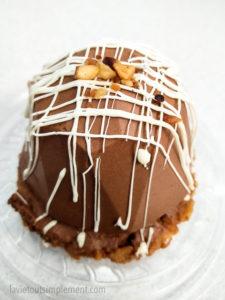 Mousse chocolat et pralin | Bistro Les Intraitables du Vieux-Montréal