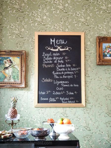 Le menu | Bistro Les Intraitables du Vieux-Montréal